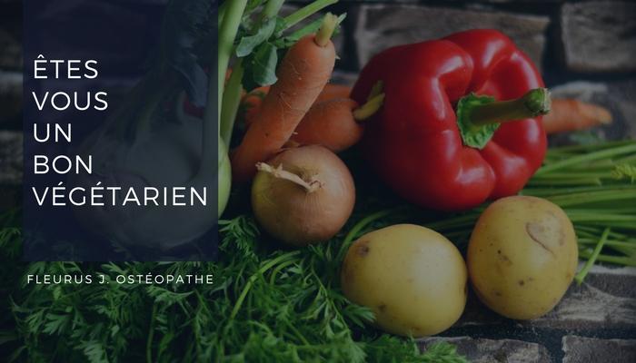 Etre un bon végétarien